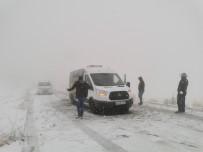 Tunceli'de Kar Yağışı Etkili Oldu