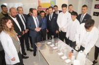 ALİ HAMZA PEHLİVAN - Vali Pehlivan'dan Özel Cizre Bilim Teknik Koleji'ne Ziyaret