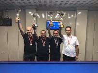 10 KASıM - 10 Kasım Atatürk Kupası Handikaplı Bilardo Turnuvası Tamamlandı