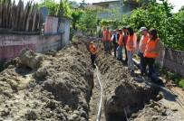 ŞEBEKE HATTI - 5 Kırsal Mahallenin İçme Suyu Sorunu Çözüldü