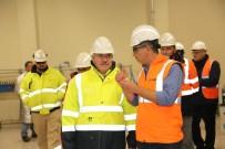 ALTIN MADENİ - Başkan Cengiz'den Maden Şirketine Ziyaret