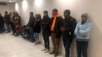 KAÇAK GÖÇMEN - Kahramanmaraş'ta 34 Kaçak Göçmen Yakalandı