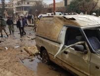 AFRİN - Afrin'de bomba yüklü araçla terör saldırısı