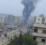 AFRİN - Afrin'de Bombalı Saldırı Açıklaması 4 Yaralı