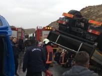 ÇAYıRHAN - Ankara'da Trafik Kazası Açıklaması 1 Ölü