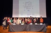 SÜLEYMAN SEBA - Beşiktaş'ta Kadınlar Şiddete Karşı Bir Araya Geldi