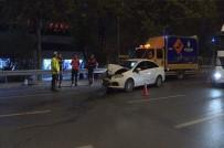 Esenler'de Trafik Kazası Açıklaması 4 Kişi Yaralandı