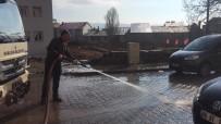 Karlıova Belediyesi'nden Temizlik Çalışması