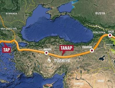 TANAP yarın Avrupa'ya bağlanıyor
