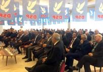 DSP Genel Başkanı Aksakal Tekirdağ'da