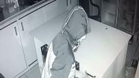 DEMİR ÇUBUK - Kantindeki Hırsızlık Girişimi Kameraya Yakalandı