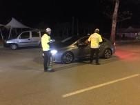 Karasu'da Polis Ekiplerinden Alkol Uygulaması