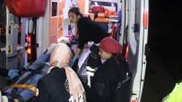 Kocaeli'de Kaza Yapan Otomobil 60 Metrelik Uçuruma Yuvarlandı Açıklaması 1 Yaralı
