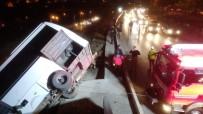 YEŞILDERE - Makas Atan Sürücü Kazaya Neden Oldu Açıklaması 7 Yaralı