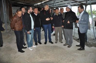 Vali Toraman Mozaikli Evde İncelemelerde Bulundu