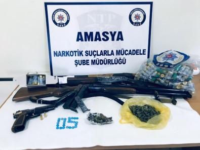 Amasya'da Uyuşturucu Operasyonu Açıklaması 9 Gözaltı