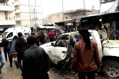 Cerablus'ta Bombalı Saldırı Açıklaması 5 Yaralı