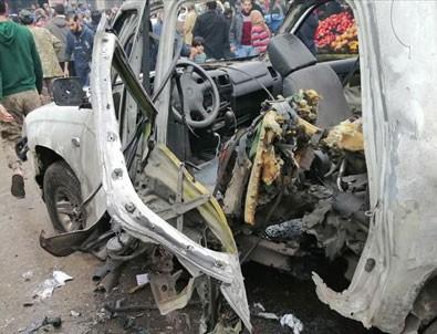 Cerablus'ta bomba yüklü araçla terör saldırısı