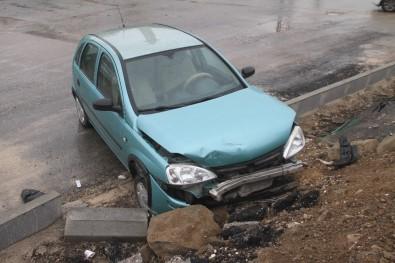 Elazığ'da Trafik Kazası Açıklaması 5 Yaralı