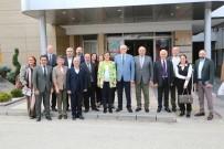 Fatma Kaplan Hürriyet, Başkan Kazım Kurt'u Ziyaret Etti