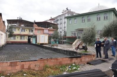 Güneş Camii Kur'an Kursu İnşaatı Başladı
