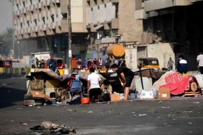Irak'ın Güney Kentlerinde Yas İlan Edildi
