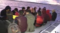 KAÇAK GÖÇMEN - İzmir'de 111 Kaçak Göçmen Yakalandı