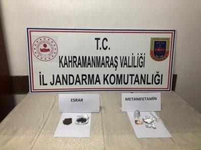 Kahramanmaraş'ta Uyuşturucuya 4 Gözaltı