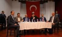 BURHAN ÇAKıR - Kemaliye'de Altın Madeni Arama Faaliyetlerine İlişkin Toplantı
