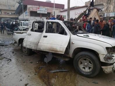 MSB Açıklaması' Cerablus Merkezli Bombalı Araç Saldırısı, 9 Sivil Yaralandı'