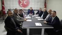 İL BAŞKANLARI TOPLANTISI - Siyasi Parti İl Başkanları Bir Araya Geldi