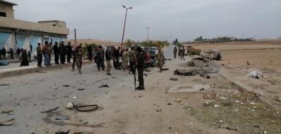 Tel Abyad'da Patlama Açıklaması 7 Yaralı