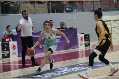 Türkiye Kadınlar Basketbol Ligi Açıklaması Yalova VIP Açıklaması 58 - Bosna 34 Açıklaması 69
