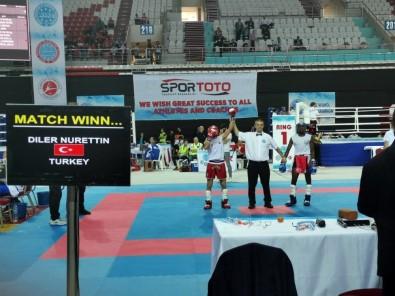 Wako Büyükler Kickboks Dünya Şampiyonası'nda Özel Harekat Polisi Dünya İkincisi Oldu
