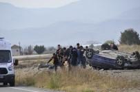 Afyonkarahisar'da Feci Kaza Açıklaması 3'Ü Ağır 5 Yaralı