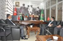 AK Parti Kars İl Başkanı Adem Çalkın, Digor'da