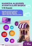 Alışverişin Avantajları Kasım'da 39 Burda'da Başka