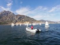 ÖMER SEYMENOĞLU - Eğirdir'deki 4.Altın Elma Optimist Yelken Yarışları Ödül Töreni İle Tamamlandı