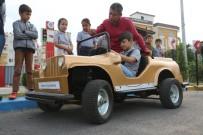 Erdemli'de Trafik Eğitim Parkuruna Yoğun İlgi