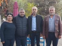 Felç Geçiren Esnafa 'Geçmiş  Olsun' Ziyareti