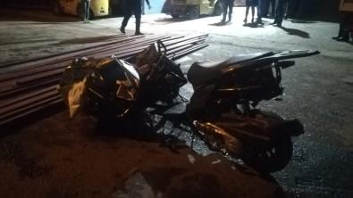 İnanılmaz kaza kamerada: 1 ölü, 1 yaralı