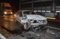 Tavşanlı'da Trafik Kazası Açıklaması 5 Yaralı
