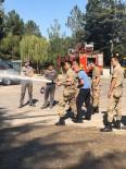 Tugay Komutanlığı İtfaiye Ekiplerine Eğitim