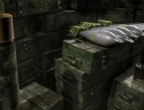 YPG/PKK'nın silah depolarında ABD'nin havan topları bulundu