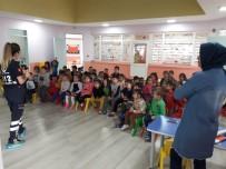 112 Acil Sağlık Personelleri Miniklerle Bir Araya Geldi