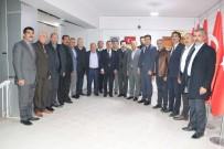 Ağrı Belediye Başkanı Sayan, Muş'ta Ziyaretlerde Bulundu