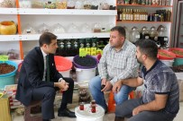 Ahlat Kaymakamı Erat'tan Esnaf Ziyareti