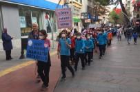 Alaşehirli Öğrenciler Lösemili Çocuklar İçin Yürüdü