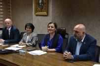 Başkan Hürriyet, Başkan Yardımcıları Ve Müdürlerle Bir Araya Geldi