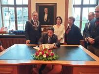 Belediye Başkanı Rasim Arı, Neuss Belediyesi'ni Ziyaret Etti
